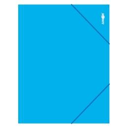 Zakladacia mapa s gumičkou PP/A4, modrá