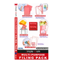 Folder set 5pcs blue FL100CH