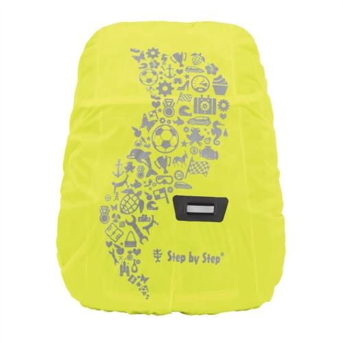 Pršiplášť pre detský ruksak, žltá