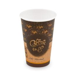 """Papierový pohár """"Coffee to go"""" 330 ml, L (O 80 mm) [50 ks]"""