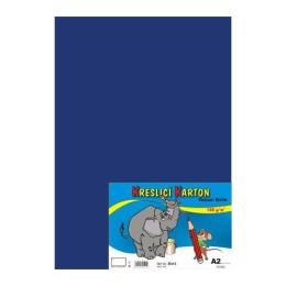 Výkres školský A2 180g / 10 listov tmavo modrý