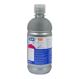 Bottle of 500ml silber poster colour