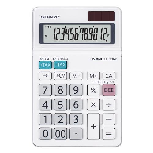 Kalkulačka stolová SHARP SH-EL320W