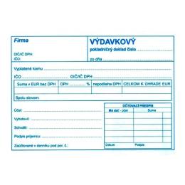 Výdavkový pokl. doklad s DPH A6 (51)
