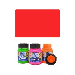 ACR Farba na textil 37ml, Fluorescent Red 103