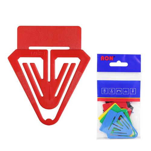 Listové spony plastové 662, popisovací, 40 mm (10ks)
