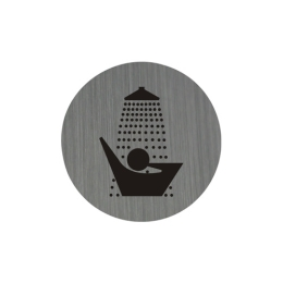 Piktogram 7,5 cm - Sprcha
