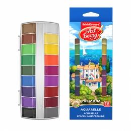 Sada akvarelových farieb EK Premium + UV 18 ks