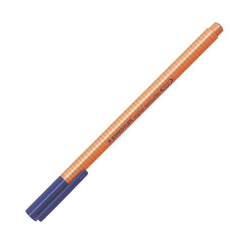 """Zvýrazňovač, 1-4 mm, STAEDTLER """"Triplus"""", oranžový"""