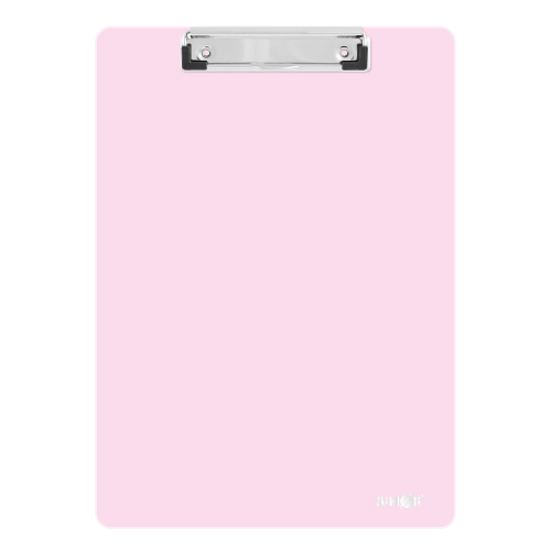 Podložka na písanie s klipom PP/A4, pastelovo ružová