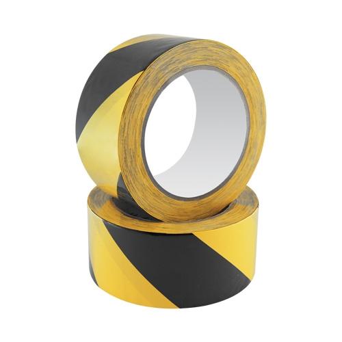 Bezpečnostná páska Safety Tape 48 mm x 20 m, čierno/žltá
