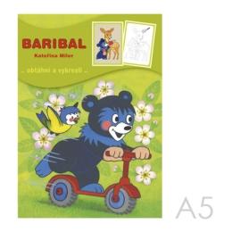 Omaľovánka A5 Akim - Baribal