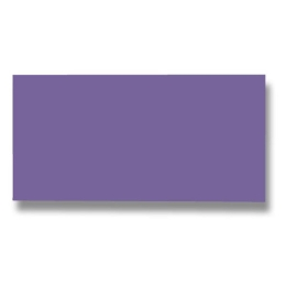 Listov.karta CF - 106x213 mm, fialová 210g (25 ks)