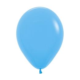 Balón Solid 28 cm, svetlo modrý /100ks/