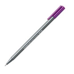 """Liner, 0,3 mm, STAEDTLER """"Triplus"""", tmavofialový"""
