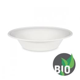 Miska okrúhla BIO cukrová trstina 700ml, 21x5 cm (50 ks v bal.)