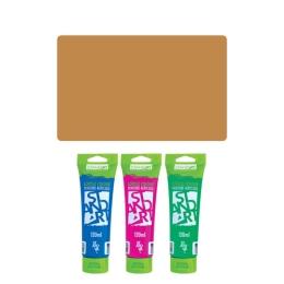 Akrylová farba JUNIOR 120 ml svetlo hnedá 601