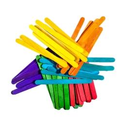 Dekoračné paličky mix farieb, sada 100 ks