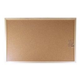 Korková tabuľa, obojstranná, 60x90 cm