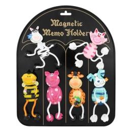 Magnetka - zvieratká 12 cm, mix/1ks