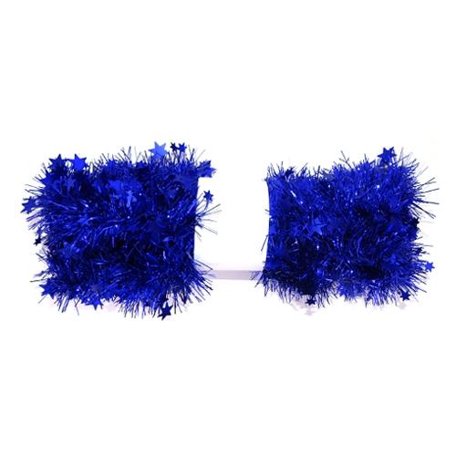 Reťaz hviezdy - modrá 2 m, 1ks
