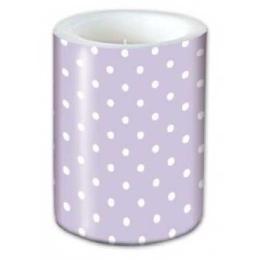 Sviečka Lampión Dots Violet