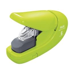 Zošívačka PLUS Paper Clinch mini SL-106AB (na 6 listov), zelená
