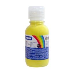 Farba temperová 125ml citrónová žltá