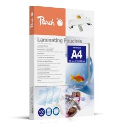 Laminovacie fólie Peach A4 216x303mm, 100mic (100ks)