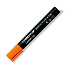 """Permanentný popisovač, 2 mm, kuželový hrot, STAEDTLER """"Lumocolor 352"""", oranžový"""