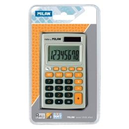 8-DIGIT ORANGE CALCULATOR WALLET 150208