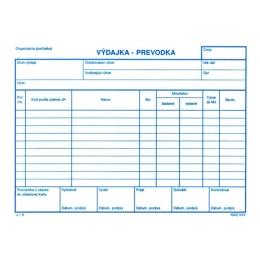 Výdajka - prevodka bez DPH A5 (49)