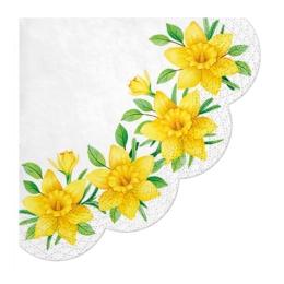 Obrúsky PAW R 32 cm Daffodils in Bloom