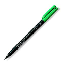 """Permanentný popisovač, OHP, 0,4 mm, STAEDTLER """"313 S"""", zelený"""