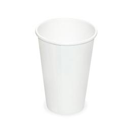 Pohár biely papierový 330 ml, L (O 80 mm), /50ks/
