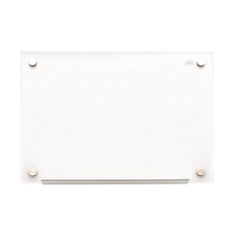 """Sklenená magnetická tabuľa, 60x45 cm, NOBO """"Diamond"""", biela"""