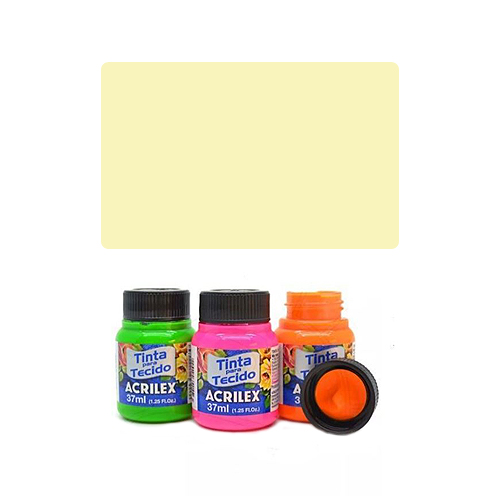 ACR Farba na textil 37ml, Baby Yellow 808