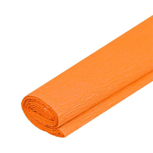 Krepový papier JUNIOR - sv. oranžový 05