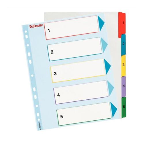 Register, prepisovateľný, A4, 1-5