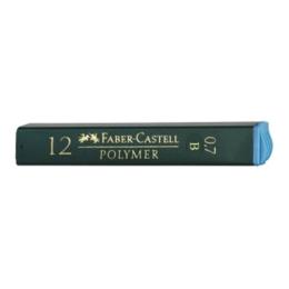 Grafitové tuhy FABER-CASTELL B / 0,7 mm, 12 ks