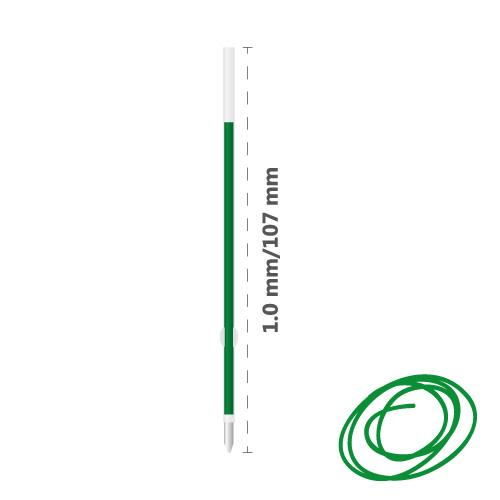 Náplň guľôčková MILAN P1 Touch 1,0 mm - zelená