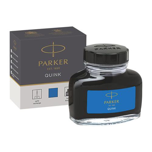 Fľaštičkový atrament Parker - modrý