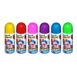 Párty sprej na parochne 140ml, mix farieb