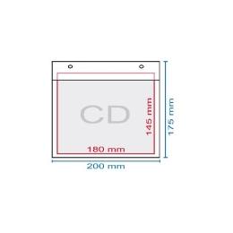 Obálka bublinková CD, 195 x 175 mm, (175 x 165)