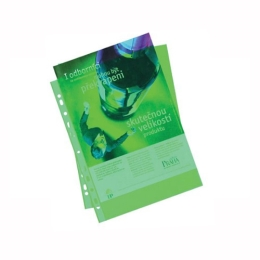 Euroobal A4 50 µm farebný - zelený,  lesklý 100 ks