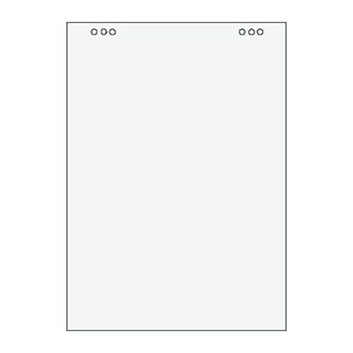 Blok Flipchart čistý 80g, 680x990mm, 20 listov