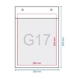 Obálka bublinková G17, 250 x 350 mm (240 x 340)