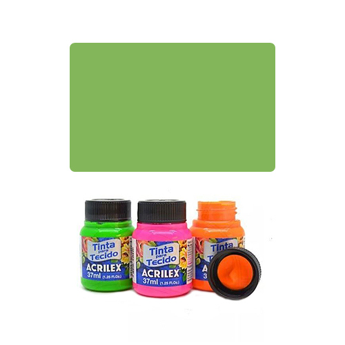 ACR Farba na textil 37ml, Kiwi Green 985