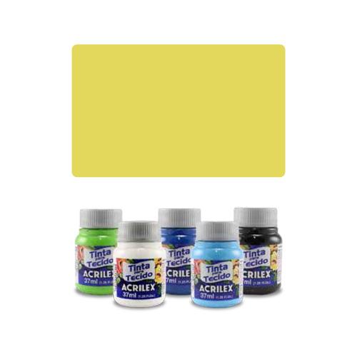 ACR Farba na textil 37ml, Lemon Yellow