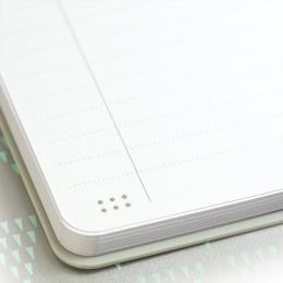 Zápisník linajkový MILAN 21x14 cm žltý